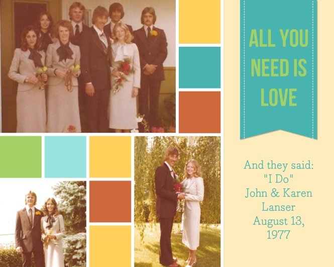 John & Karen - August 13, 1977