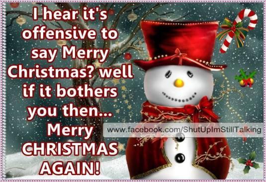 Merry Christmas ...